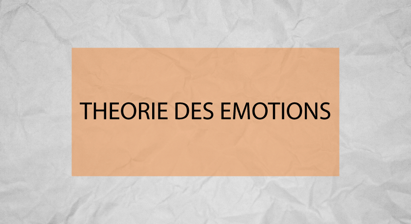 THEORIE DES EMOTIONS