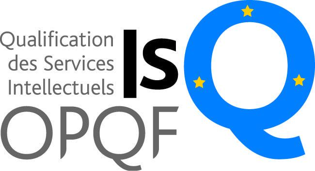 Logo ISQ OPQF, Qualification des services intellectuels