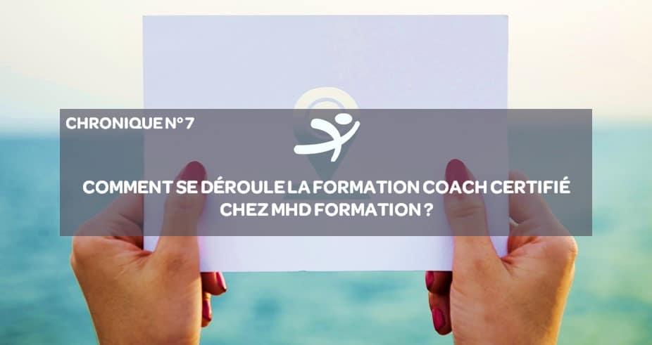 Coach Certifié – Comment se déroule la formation?