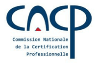 Logo CNCP - Commission Nationale de la Certification Professionnelle