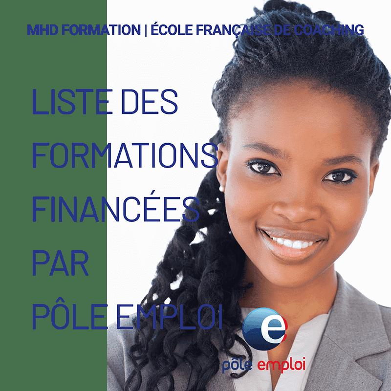 Liste des formations financées par Pôle emploi