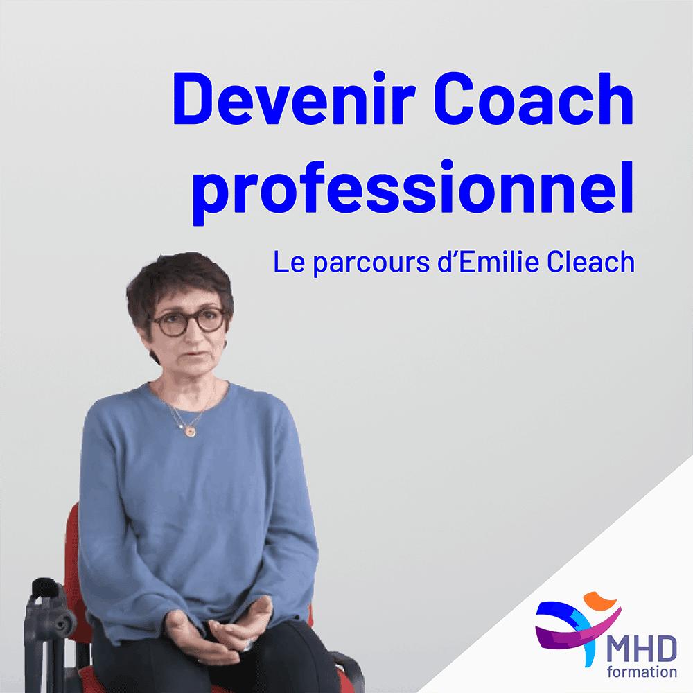 Devenir coach professionnel : Le parcours d'Emilie Cleach