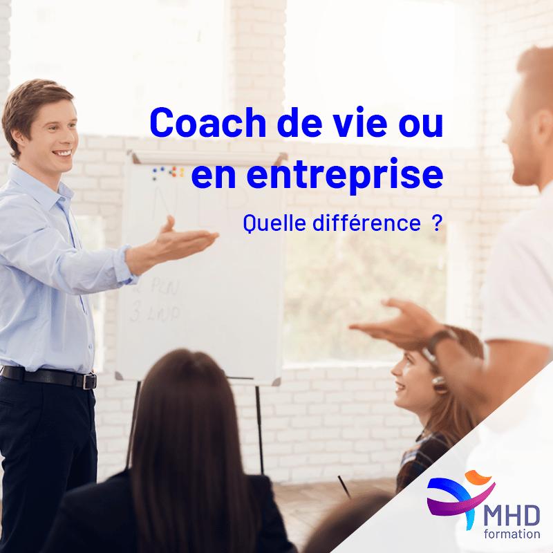 Différence entre Coach de vie et Coach en entreprise